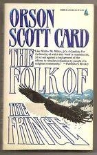 ORSON SCOTT CARD The Folk of the Fringe. pbk. Mormon SF. ENDER'S GAME author