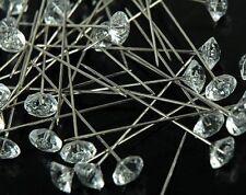 "144 pcs Diamond 2.5"" Wedding Corsage Bouquet Pins"
