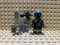 Lego Custom Mandalorian Beskar Minifigure -Custom Printing! -NEW