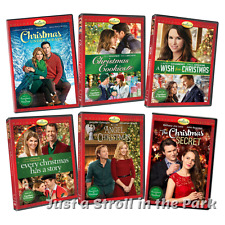 Hallmark 2017 Holiday Series 6 Movie Christmas Collection Box/DVD Sets NEW!
