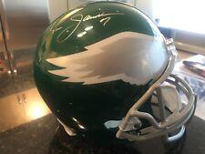 Ron Jaworski Eagles Autographed Riddell Throwback Pro-Line Helmet - Fanatics