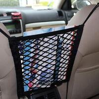 Auto Car Seat Side Storage Mesh Net Pouch Bag Phone Holder Pocket Organizer T