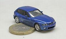 Herpa      BMW Z3, Coupe,    blau effekt met