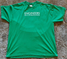 Xl T-Shirt Engineers Do It To Specifications by Jerzees 50% Cotton/50% Polyester