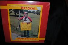MIKE SNIDER String Band Live at the Station Inn LP PRIVATE BLUEGRASS BANJO SEALE