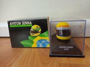 MINICHAMPS 1/8 Clásico Go Kart 1979 Arai Ayrton Senna F1 Fórmula 1 Casco