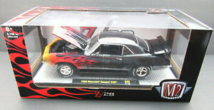 1969 Chevrolet Camaro Z/28 ~ Flames ~ 1:24 Metal Die Cast Car ~ M2 Machines