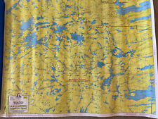 New ListingMinnesota Boundary Water Maps for Canoeing, two maps F12 & F13