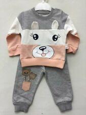 Baby Jungen 3 tlg Set Weste Hose Shirt mit einem Äffchen Motiv