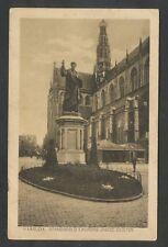 Haarlem  Standbeeld Laurens Jansz. Coster