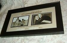 "Picture Frame Grandchildren Then/Still Wood Frame Matted 10""X17"" New Memories"