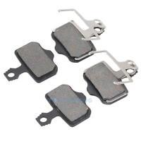 2 Pairs Bicycle Bike Disc Brake Pads For Elixir AVID E1/3/5/7/9 ER/CR SRAM Black