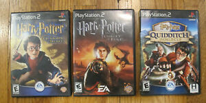 Harry Potter Chamber of Secrets, Goblet of Fire & Quidditch Lot (PlayStation 2)