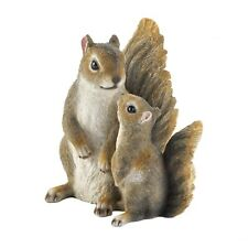 Mommy and Me Squirrel Figurine,