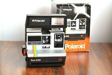 POLAROID Sun 635 QS LAND Instant Film  w/ Original Packaging/Manual  -Tested