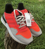 NEW Adidas Originals ZX 500 RM Boost Shoes Solar Sneakers DB2739 NWT  SIZE 7