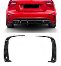 Für Mercedes-Benz A-Klasse W176 A45 AMG Look Flaps Flics Aero Stoßstange #0100