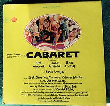 "HARLOD PRINCE Cabaret Soundtrack LP COLUMBIA KOS3040 US 1966 360 Stereo 12"" 33"