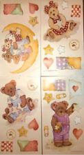 BOYDS BEARS wall stickers 27 big decals baby room nursery decor teddy