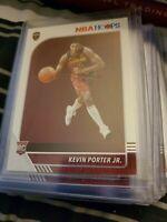 Kevin Porter Jr 2019-2020 Panini Hoops 18 Card Rookie Lot