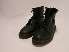 Dr Martens VTG Made England UK 6 US Mens 7 Womens 8 Eye 1460 Black Leather Boots