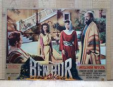BEN HUR fotobusta poster affiche Charlton Heston A Tale of the Christ Wyler AM5