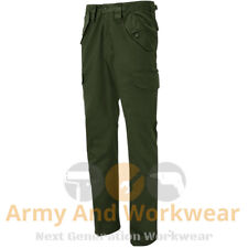 Blue Castle Mens Cargo Combat Work Trousers Army Military Camo Camouflage Plain