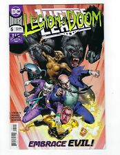 Justice League # 5 Regular Cover NM DC Legion Of Doom