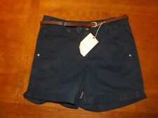 Marks and Spencer Cotton Regular Size Shorts for Women