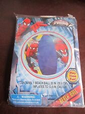 Inflatable Beach Ball Ultimate Marvel Hero Spiderman Age 3+ sand beach fun water