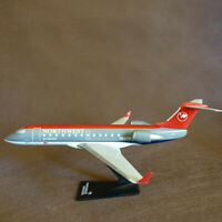 1:100 NWA Jet Airlink CRJ-200  Airlines Plastic Assembled Airplane Model Toys