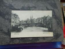 AK Nürnberg Pegnitzpartie 1905 gelaufen Postkarte Bayern