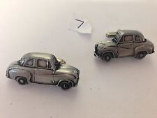 Austin A35 2 Door Saloon 3D cufflinks classic car pewter effect cufflinks ref7