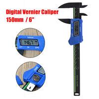 """6"""" Digital LCD Pied à Coulisse Électronique Vernier Caliper Micromètre"""