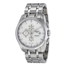 Tissot T035.627.11.031.00 Couturier Automatic COSC Mens Chronograph Silver Watch