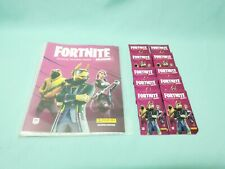 Panini Fortnite Reloaded Serie 2 Trading Card Sammelmappe + 10 Booster