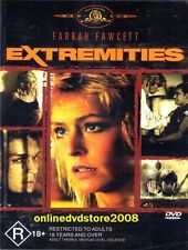 EXTREMITIES (Farrah FAWCETT, James RUSSO) THRILLER Film DVD (NEW SEALED) Reg 4