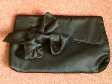 Black Satin Bag Clutch Bag Avon New
