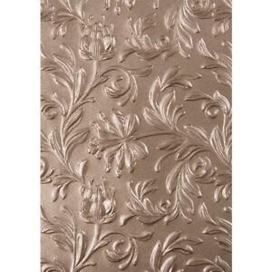 Sizzix 3D Texture Fades Embossing Folder By Tim Holtz - Botanicals