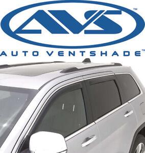 AVS 194252 In-Channel Window Rain Ventvisor 4pc 2011-2020 Jeep Grand Cherokee