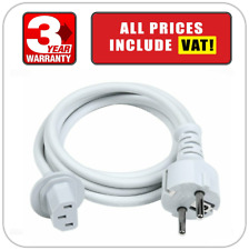 EU Plug Cord Power Lead Cable 2 Pin For Apple iMac G5 A1311 A1312 A1224 A1225