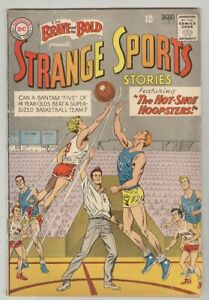 Brave and the Bold #46 March 1963 VG Strange Sports Stories