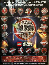 Lego Star Wars Poster Todesstern 60x80 10 Jahre 10123 10030 10019 10018 10179