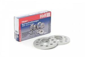 H&R Trak+ Wheel Spacers DR 15mm 5x112 14x1.5 Thread 66.5 Center Bore, Bolt