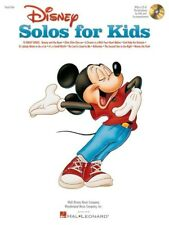Disney Solos For Kids (Book/Online Audio) Piano, Vocal & Guitar (with Chord Symb