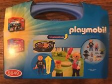 PLAYMOBIL Backyard Barbecue Carry Case #5649