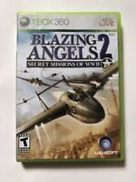 Blazing Angels 2: Secret Missions of WWII (Microsoft Xbox 360, 2007)- COMPLETE