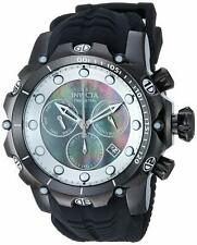 Invicta Men's Venom Stainless Steel Swiss-Quartz Watch with Silicone Strap, Bl..