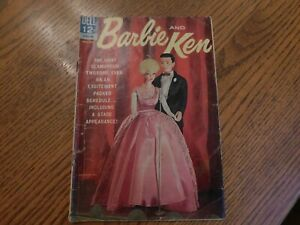 1963-64 Barbie And Ken Comic Book Dell Nov. -Jan.