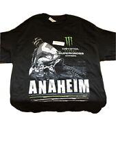 Monster Energy AMA Supercross FIM World Championship Anaheim T-shirt Adult Large